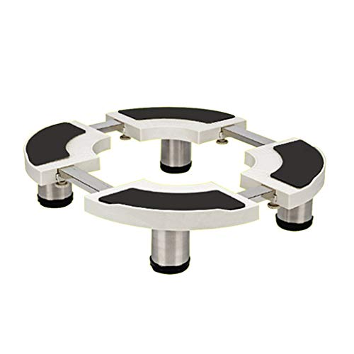 Zylindrische Klimasockel-Multifunktions-Universalhalterung mit Verstellbarer Drainage-Ablage Bodenwannen für Waschmaschinen (Größe: 11 cm)