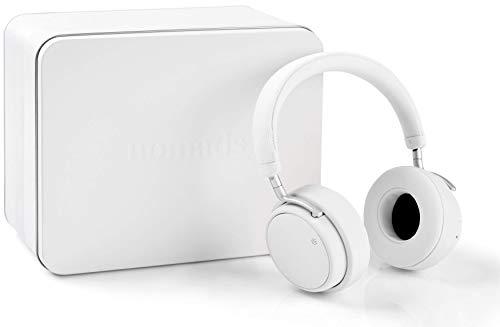 Nomads Audio WEARone, Active Noise Cancelling (ANC) Koptelefoon, Bluetooth koptelefoon, draadloze hoofdtelefoon, Wit (ANC, Bluetooth, batterijduur tot 20 uur, Bluetooth 4.1, handsfree bellen, Oplaadtijd 2,5 uur, inclusief reistas)