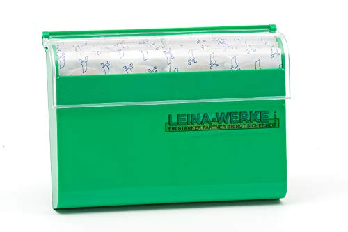 LEINAWERKE 76001 plaster dispenser, 1 plaster strips, WF 1.9 cm x 7.2 cm, individually packed 1 pc.