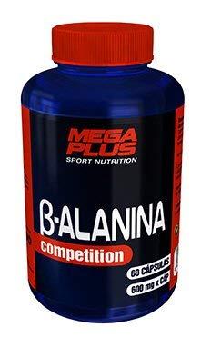 MEGA PLUS B-ALANINA - Complemento alimenticio a base de ß-alanina - 60 Cápsulas