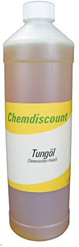 1Liter Tungöl (echtes chinesisches Holzöl), versandkostenfrei