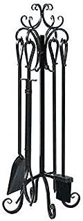 Panacea Fireplace Tool Set 5 Piece, Scroll Design 29
