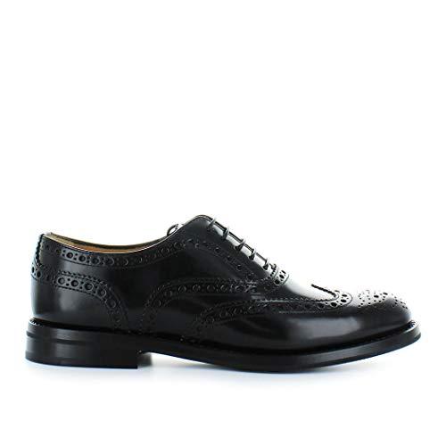 Zapatos de Mujer Zapato De Cordones Burwood Wg Negro Church'S Otoño Invierno 2019