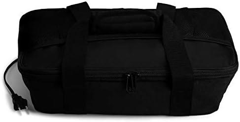 HOTLOGIC Food Warming Tote Casserole Carrier 120V Black product image