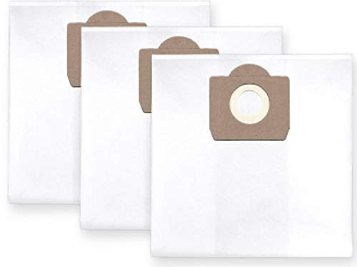 3 x Sacchetti rinforzati per aspirapolvere, a 6 strati (per polvere di gesso, di stucco ecc.) per Portotecnica Mirage 1515