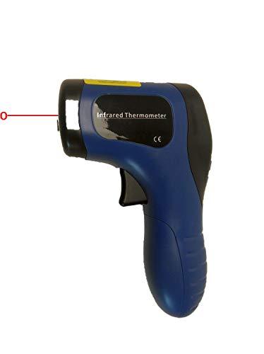 HW Infrarot-Temperaturmessgerät | IR Laser-Thermometer für Holzbacköfen & Pizzaöfen