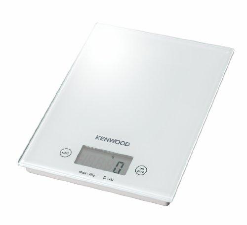 Kenwood DS401.W Bilancia Elettronica da Cucina, elettrica, bianco, tessuto