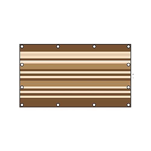 KHUY Toldo rectangular para balcón, toldo para patio, tela para patio, patio, jardín, invernadero, sombra, parasol grueso para exteriores (tamaño: 180 x 240 cm)