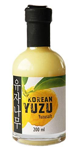 Koreanischer Yuzu, Direktsaft pasteurisiert, 200ml