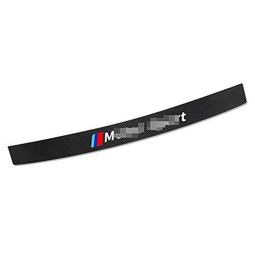 LHRLBB CocheFibra Carbono Protección para Parachoques, para BMW E91 E34 F30 F20 F30 G30 X1 X3 X5 Motorsport Resistente Arañazos Strip Sticker Decorativas Accessories