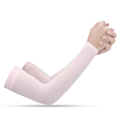 Urisgo - Manguitos deportivos, brazos, para el sol, trabajos de jardines, protección UV, radiador, manga larga, guante para todos los deportes al aire libre, protección para la piel