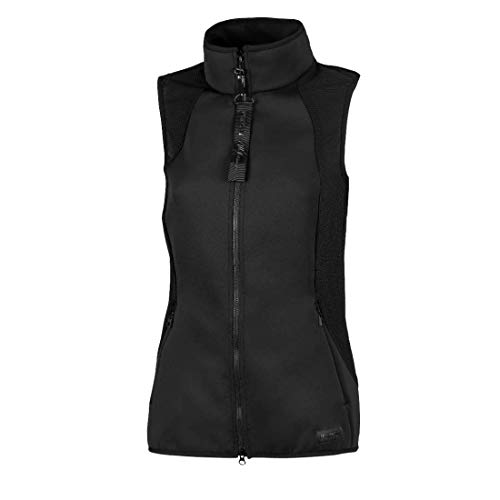 PIKEUR Damen Weste LIN New Generation Collection Frühjahr/Sommer 2021,black, 36