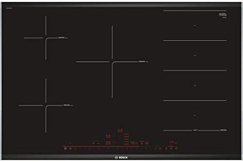Bosch PXV875DC1E Serie   8 - Placa de inducción, con 3 zonas de cocción, de 60 cm ancho, color negro