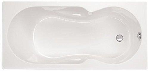 Aqualuxbad Badewanne Wanne Raumsparbadewanne eckbadewanne eckwanne rechteck Acryl 170cm, Griffe:ohne Griffe