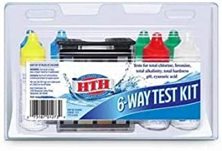 HTH 1273 6-Way Test Kit Swimming Pools Chemical Tester