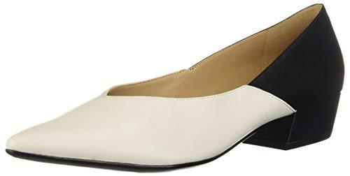 Naturalizer Zapatos Betty para mujer, (Blanco/Negro), 40 EU