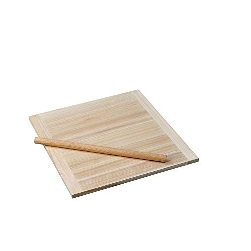 天然素材を使用したのし板&めん棒セット!! ヤマコー のし板(棒付・脚無) 小 85296 〈簡易梱包