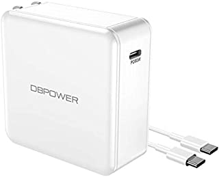 DBPOWER USB Type C Charger, USB-C Charger with Power Delivery 60W USB Wall Charger for iPhone Xs/Max/XR/X/8, iPad Air 2/Mini, MacBook Pro/Air 2018, Galaxy S9/S8, LG, Nexus, Pixel, and More