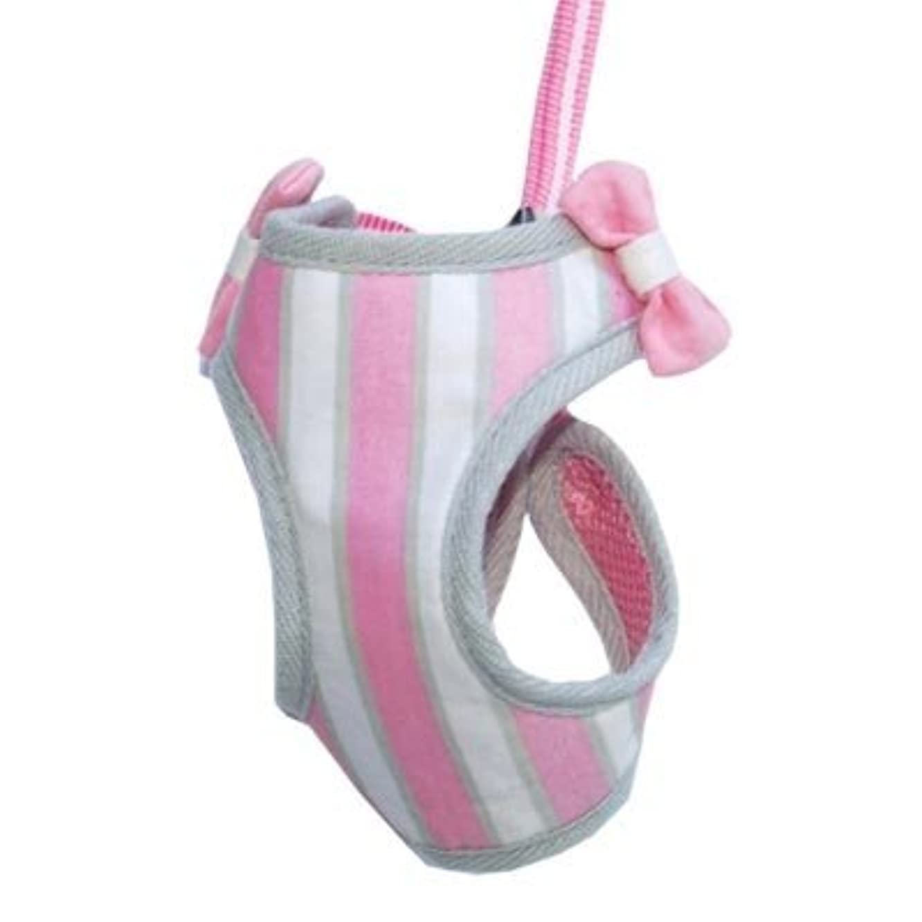 EasyGo Pink Sweetbow Dog Harness with Leash