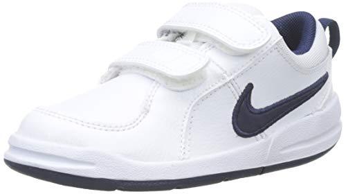 Nike Pico 4 (Tdv), Zapatos de Primeros Pasos para Bebés, Blanco (White/Midnight Navy 101), 25 EU