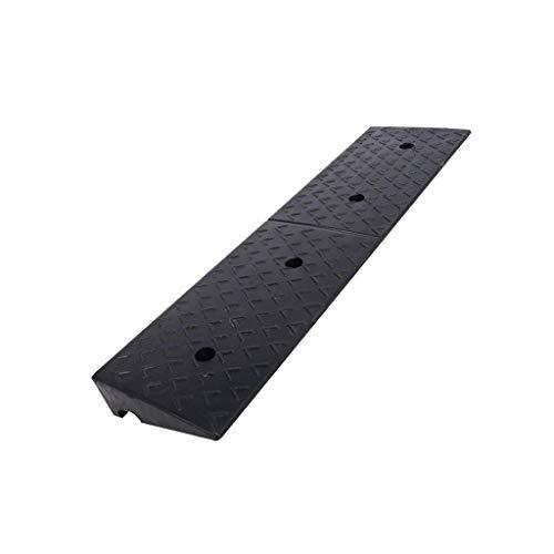 CSQ-Rampas Encintado de caucho rampas firme duradero sótano rampas for vehículos Garaje Servicio Rampas Usado for subir y bajar pendientes Pasos 5-12CM Rampas de acera ( Size : 100*25*5CM )