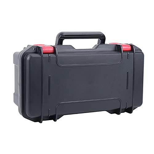 Caja de Herramientas Caja de herramientas de plástico Caja de instrumentos Resistente de engrosado Maleta para herramientas eléctricas Llave de hardware Reparación de automóviles Caja de almacenamient