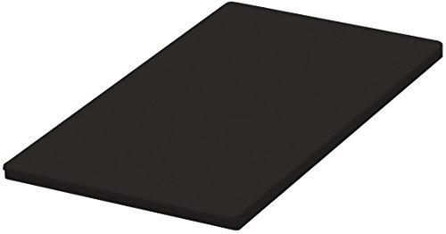 天馬(Tenma) スリムごみ箱用フタ ブラウン 幅23×奥行45×高さ1.5cm イーラボホーム スマートペール フルオープンフタ