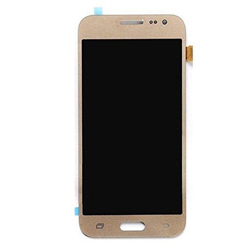 VANKER Pantalla LCD Pantalla táctil Asamblea digitalizador (For Samsung Galaxy J5 2015 J500 Series J500H J500M J500F J500FN)_Galaxy J5 2015 Oro