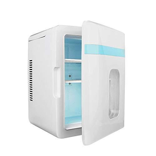 Mini Nevera Electrica, Nevera Pequeña Portátil, Calefacción Y Refrigeración, 12L Mini-Nevera Tanto...