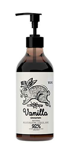 YOPE Vanilla & Cinnamon Liquid Soap Wanilia i Cynamon Mydło w płynie 500ml