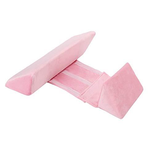 Almohada moldeadora de bebé recién nacido, almohada lateral antivuelco para dormir, almohada triangular de posicionamiento para bebés de 0 a 6 meses ⭐