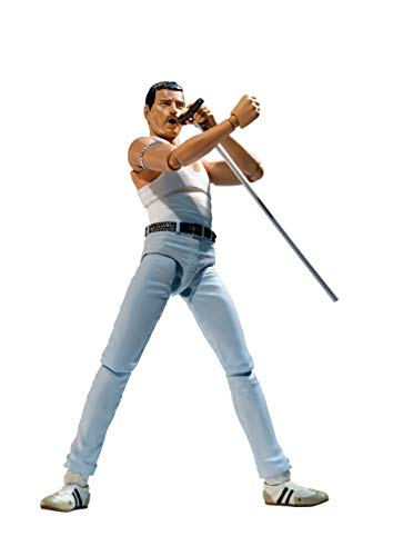 Figura S.H. Figuarts Freddie Mercury 1985 Live Aid Version 15cm