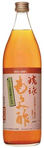 琉球もろみ酢黒糖入り900ml×2本石川酒造場黒麹菌が産出する天然クエン酸にミネラル豊富な沖縄産黒糖を加えた健康飲料酸味が弱く、ほんのりとした甘さで飲みやすい