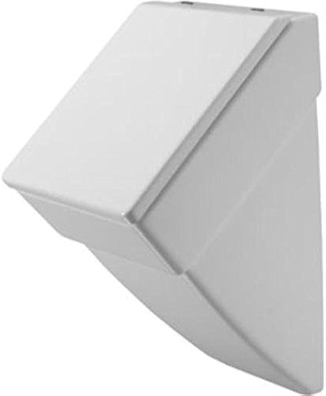 Duravit Urinal Vero, Zulauf von hinten, ohne Deckel mit Fliege, wei WonderGliss 280132000, 28013200