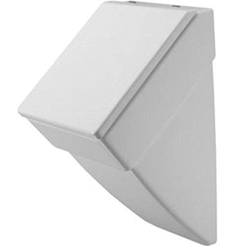 Duravit Urinal Vero, Zulauf von hinten, ohne Deckel mit Fliege, weiß WonderGliss 280132000, 28013200