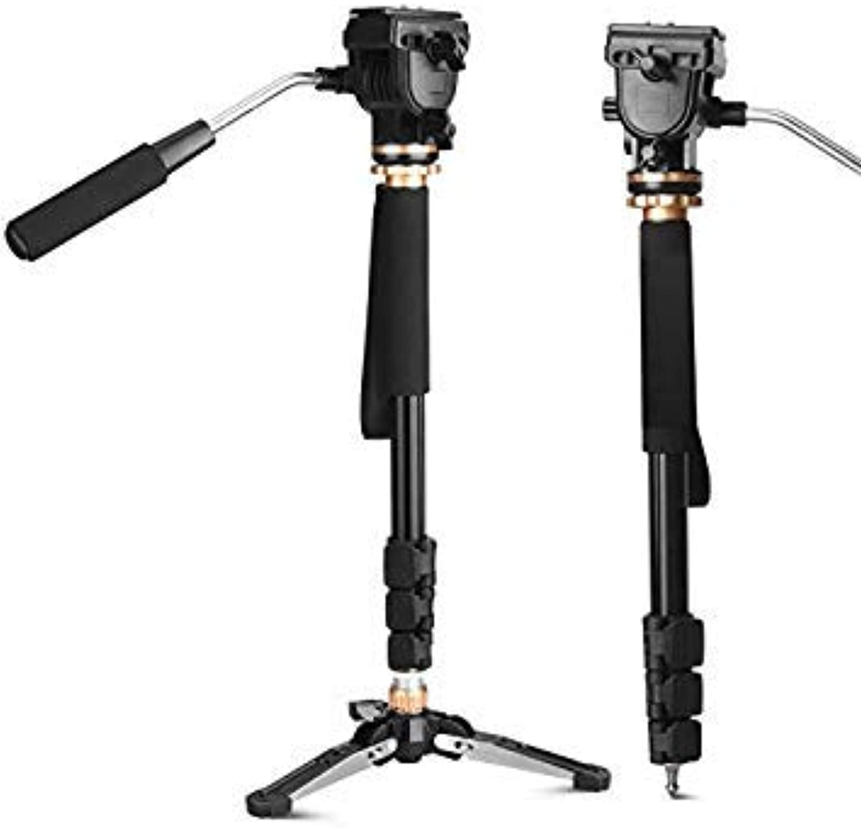 Ulanzi Professinal Portable Video Camera Monopod Tripod Mount Extendable Tripod Stick with Ballhead Monopod Base for DSLR Camera