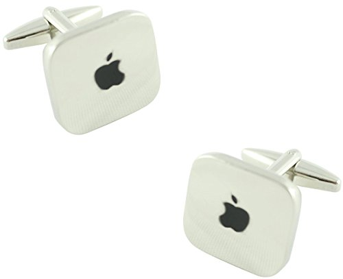 MasGemelos Manschettenknöpfe mit Apple-Logo