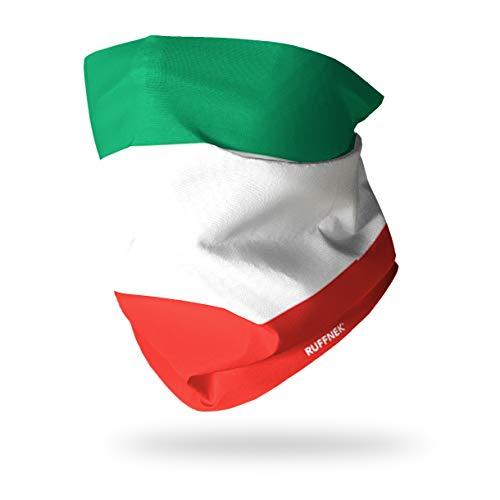 FLAGGE VON ITALIEN / Bandiera d'Italia / il Tricolore - RUFFNEK Multifunktionale Mütze Ausschnitt wärmer - Einheitsgröße