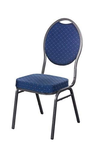 20x Stapelstuhl blau Berlin Deluxe/Bankettstuhl Stapelstühle Bankettstühle bankettstuhl stapelbar Konferenzstuhl Seminarstühle Bankettstühle Wartezimmerstuhl Wartezimmerstühle Konferenzstühle