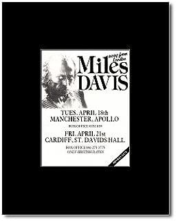 Music Ad World Miles Davis - Away from London Tour 1989 Mini Poster - 13.5x10cm