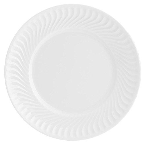VISTA ALEGRE Sagres Plato Llano, Porcelana, Blanco, 25.4 cm