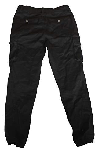 Eight2Nine M.O.D. Herrenhose Jeans Chamouflage Short Cargo Hose (30, Schwarz)