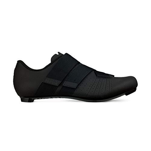 Fizik Powerstrap R5 - Zapatillas de Ciclismo Unisex para Adulto, Unisex Adulto, TPR5PSPU2, Negro, 44 EU