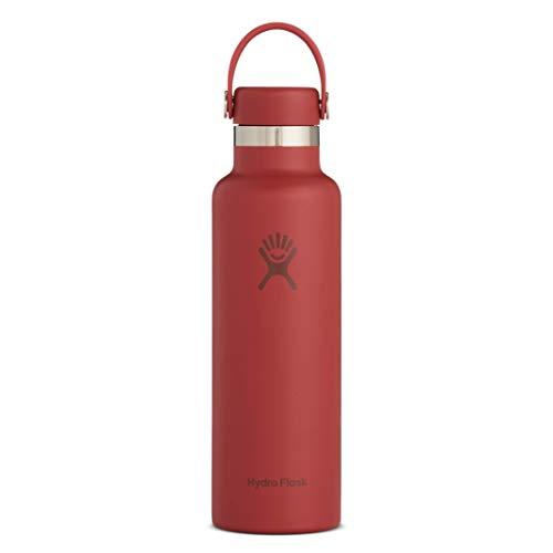 Hydro Flask Skyline Series Water Bottle, Flex Cap - 21 oz, Brick