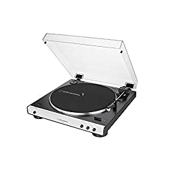 Bluetooth turntable designed in Tokyo, Japan by Audio-Technica, renowned for our high-fidelity equipment since 1962 Wired or wireless, enjoy the best of both worlds with the LP60XBT Connects to the latest Bluetooth speakers and headphones Fully autom...