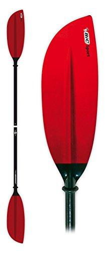 BIC Sport - Pieza para Kayaks y piraguas, Color Rojo/Negro, Talla 220cm