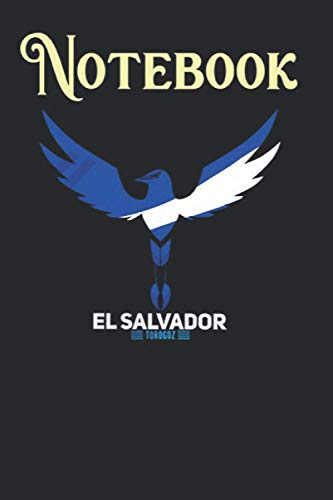 Composition Notebook, Journal Notebook: El Salvador National Bird Torogoz - Blue And White Size 6'' x 9'', 100 Pages for Notes, To Do Lists, Doodles, Journal, A special gift for Kids, Him or Her