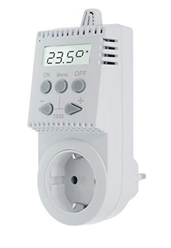 Komforthaus Steckerthermostat TS05 Thermostat Infrarotheizung