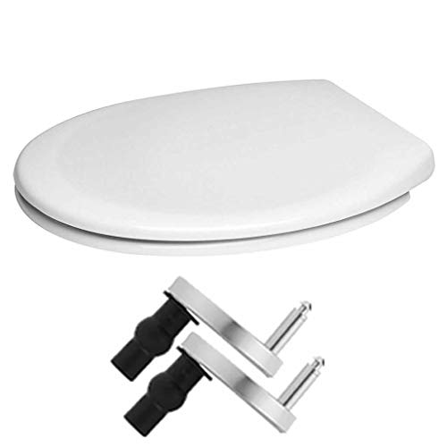 Toilet Seat Cover White One Seat Soft Close Quick-Release...