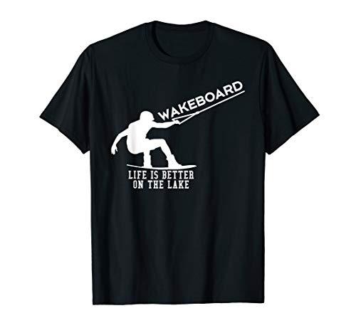 Wakeboard Wakeboarding Geschenk Wake Board Wakeboarder T-Shirt